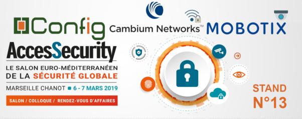 AccesSecurity bannière Config + Cambium + Mobotix +